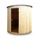 Saunafass 2 m Außensauna Sauna Tonnensauna